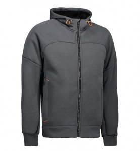 HOODED HEAVY FLEECE